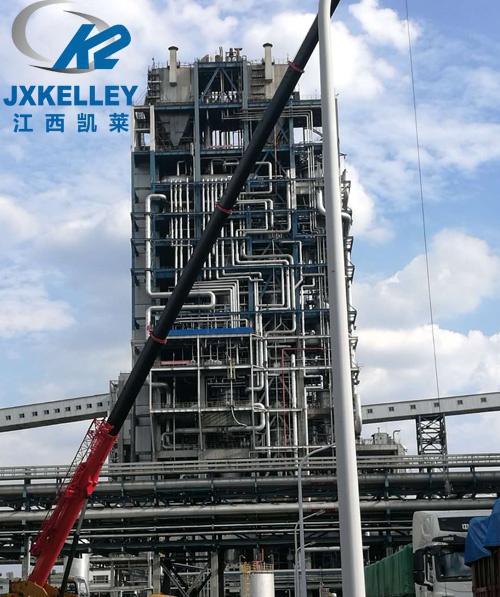 山西180项目成功案例:热交换塔高铝瓷球填料
